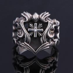 FAMILIA GOTHIC EMBLEM UNION RING
