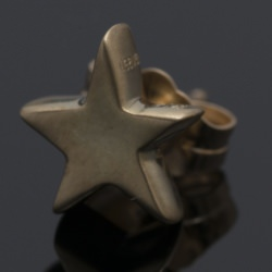 14K TINY STAR STUD EARRINGS